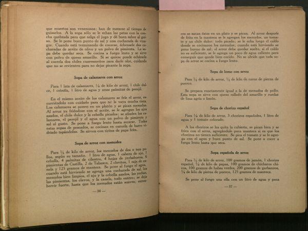 Exquisita Cocina de Campeche: 400 Recetadas, Pages 36-37