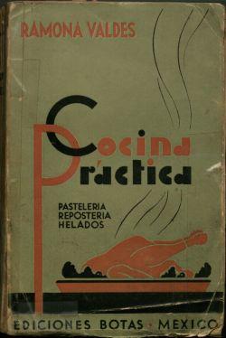 Cocina práctica, Cover.
