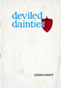 Deviled Dainties. Gebhardt Chili Powder co., 1922.