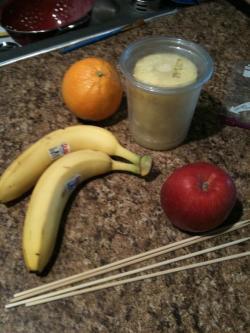 fruit skewers ingredients