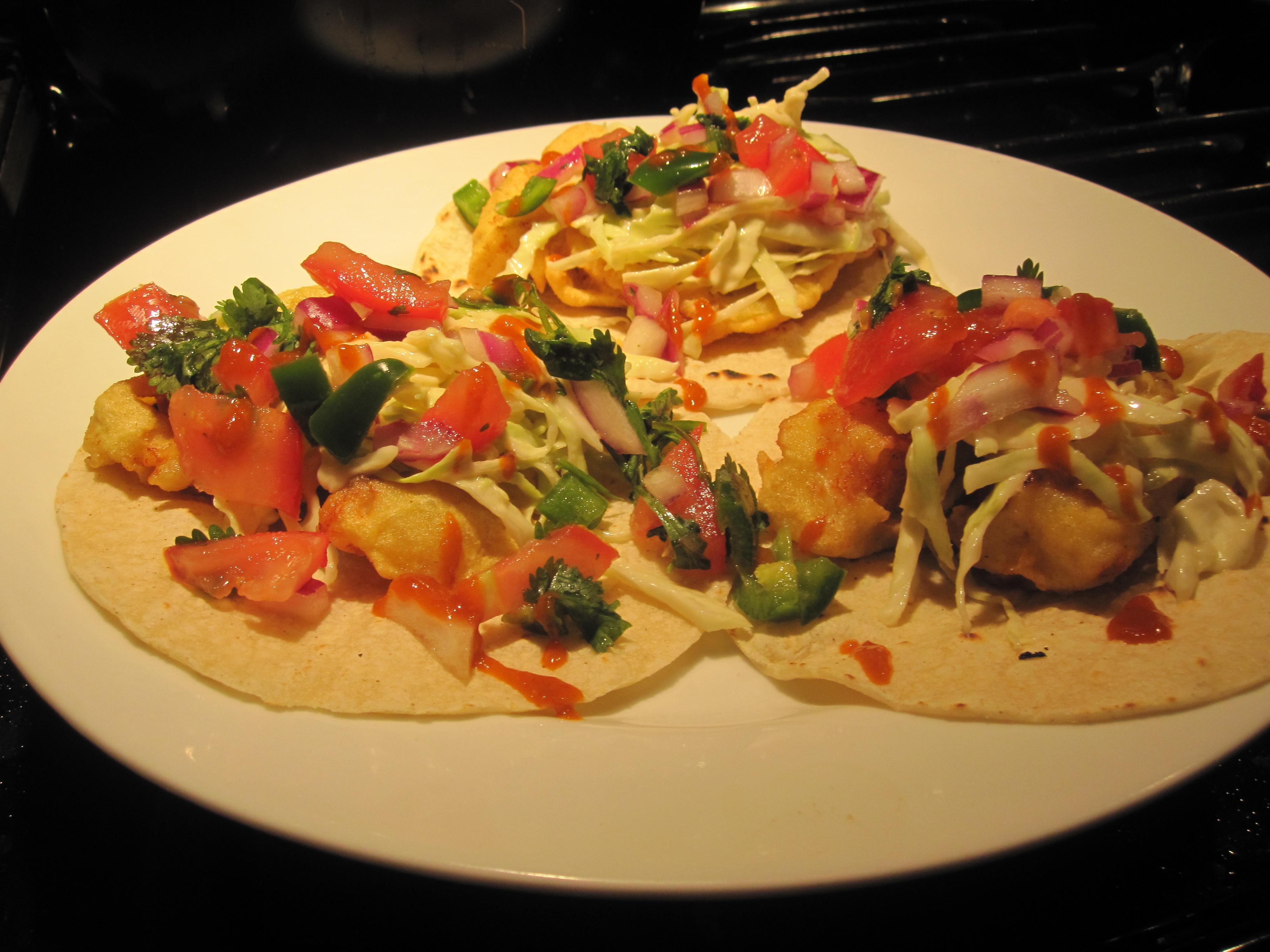 Baja-Style Tempura Fish Tacos, 2009   La Cocina Histórica