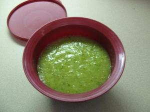Salsa verde finished
