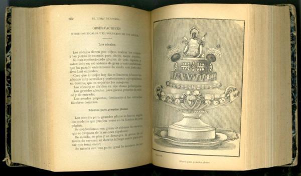 Libro de Cocina - centerpiece