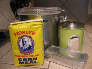 cornmeal cookie ingredients