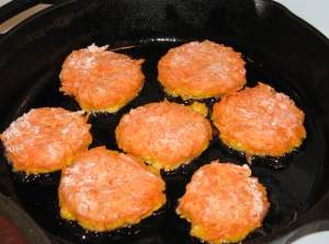 Fry the patties
