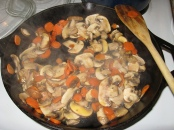 Carrots and Mushrooms