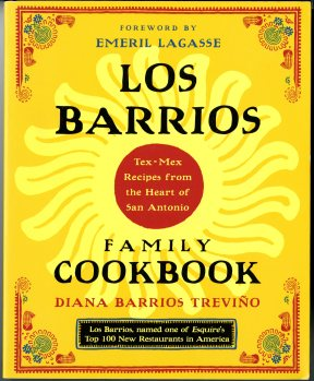 Los Barrios Family Cookbook Cover