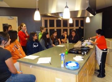 UTSA Rec Center Student Chef Cassie Prepares Pescado a la Veracruzana