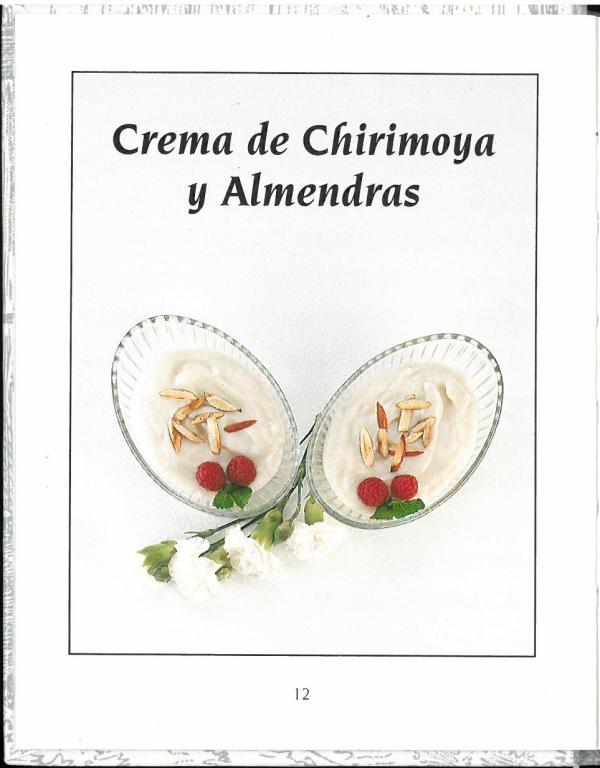 Chirimoya y Guanábana (1999) – Postres / Desserts