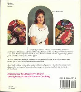 Mexican Microwave Cookery (1988) by Carol Medina Maze. UTSA Libraries Special Collections.