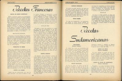 Almanaque Dulce 1939. Unión Nacional de Productores de Azúcar (Mexico). UTSA Libraries Special Collections.