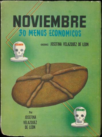 Noviembre (30 Menus Economicos) by Josefina Velázquez de León. UTSA Libraries Special Collections.