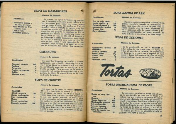 Almanaque Dulce 1956. Unión Nacional de Productores de Azúcar (Mexico). UTSA Libraries Special Collections.